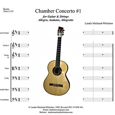 Chamber Concerto #1 for Guitar & Strings