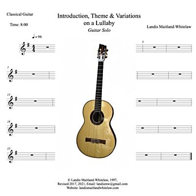 Introduction, Theme & Variations on a Lullaby