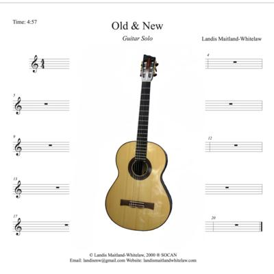 Landis Maitland-Whitelaw - Old and New