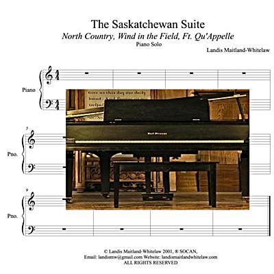 The Saskatchewan Suite-solo piano